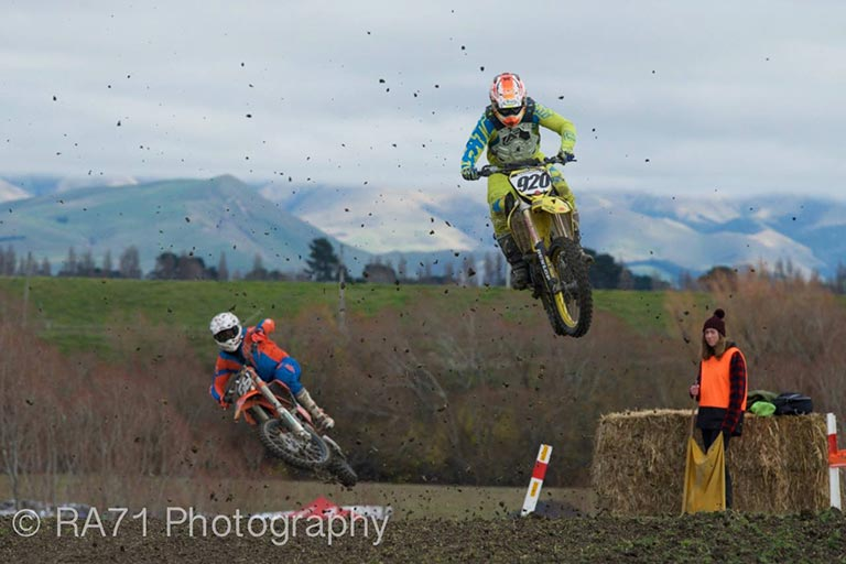 Christchurch off-road motocross events