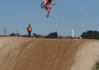 Justin flying!